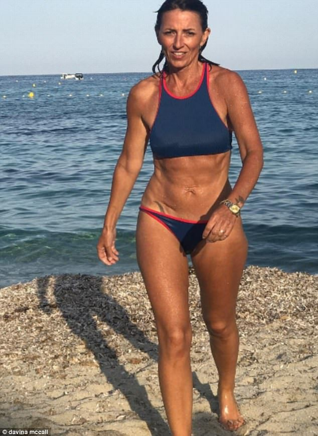 Davina McCall's weight loss, transformation
