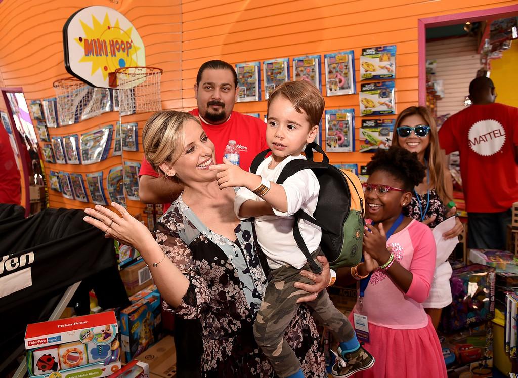 Rocky James Prinze- Sarah Michelle Gellar and Freddie Prinze Jr. Rocky's Son