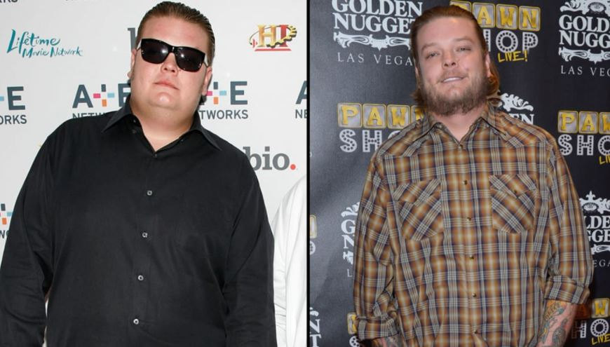 Corey Harrison before and after