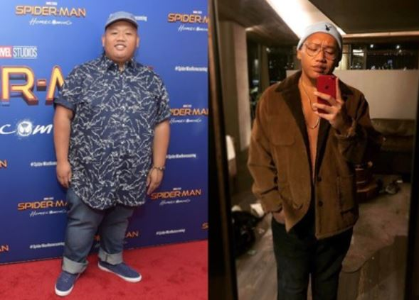 Jacob Batalon's before and after picture