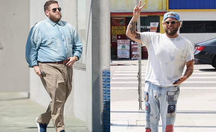 Jonah Hill before and after photos