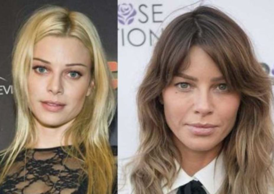 Lauren German before and after picture