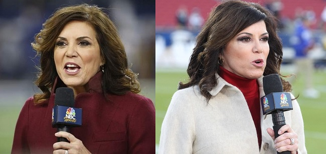 Michele Tafoya then and now