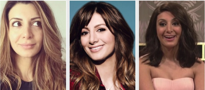 Nasim Pedrad before and after