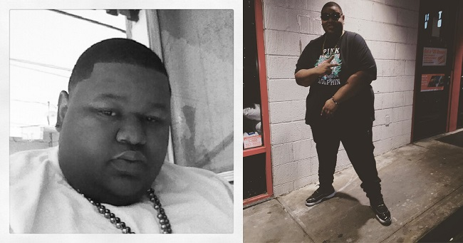 Jamal Mixon before and after weight loss
