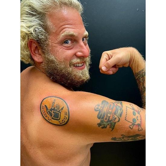 Jonah Hill Body Positivity tattoo