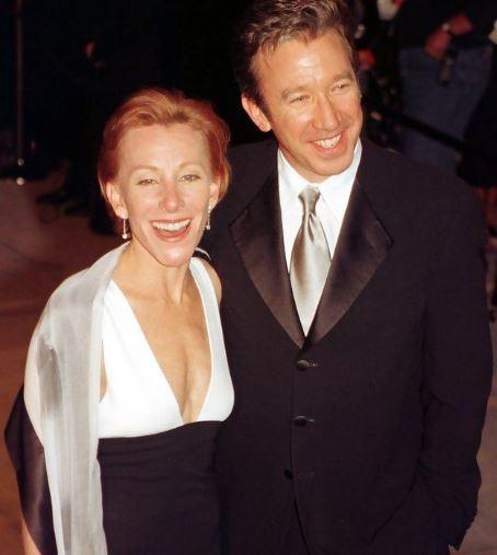 Tim Allen and Laura Deibel